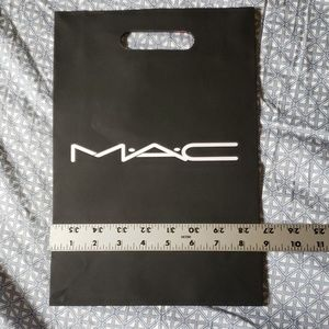 Black MAC Cosmetics gift bag